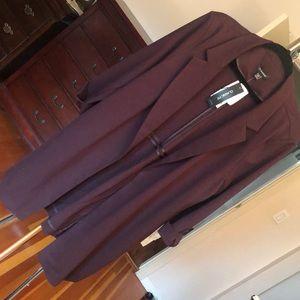 BNWT Le chateau purple jacket size xxl